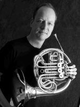 Jonathan Jaggard French Horn bw